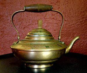 Copper tea kettle for Sale in Glen Ellyn, IL