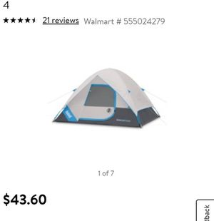 Bushnell Sport Series 8' x 7' Dome Tent, Sleeps 4 for Sale in Los Angeles, CA