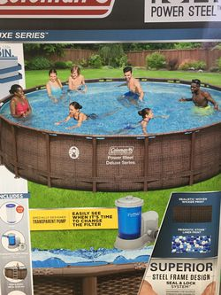 Coleman 18ft Power Steel Pool for Sale in Spartanburg,  SC