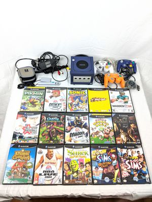 Nintendo Game Cube Lot 15 Games , Controllers and more for Sale in Sykesville, MD