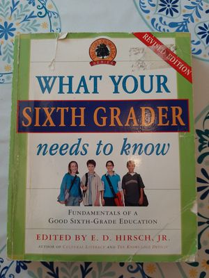What Your Sixth Grader Needs to Know for Sale in Orange, VA