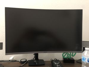 Samsung 27-Inch CJG56 144Hz Curved Gaming Monitor WQHD 2560 x 1440p Resolution, 4ms Response, Game Mode, HDMI, AMD FreeSync for Sale in Los Angeles, CA