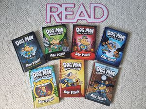 Dog Man Series 1-7 Excellent Kids Books for Sale in Tamarac, FL