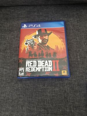 Red dead redemption 2 ps4 for Sale in Orlando, FL