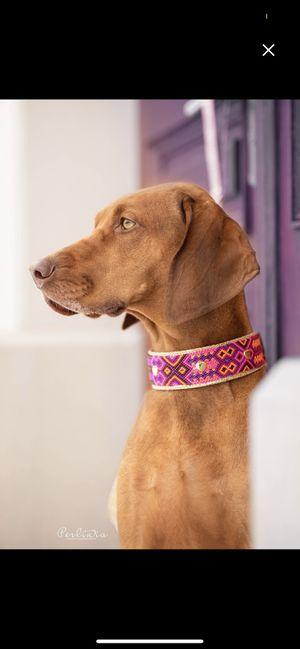 Pet Collar Handmade Dogmom Dog Collar $45 for Sale in Orlando, FL