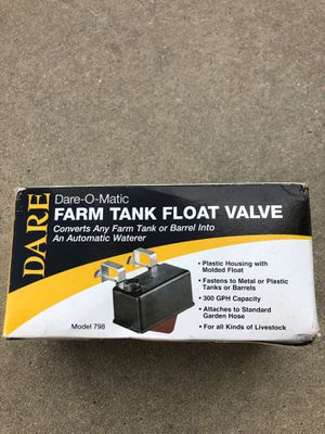 Automatic animal watering valve for Sale in Fairmont, NC