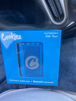 Limited edition cookies bumpboxxx Bluetooth speaker for Sale in Caruthers, CA