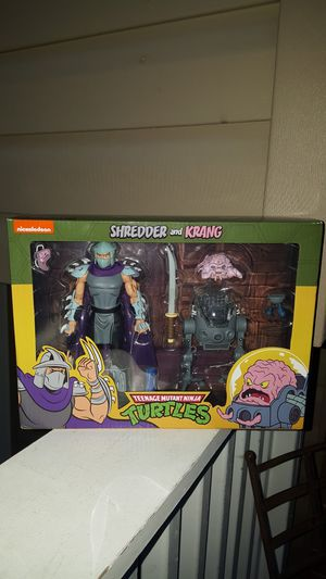 NECA TMNT Shredder and Krang collectible action figures for Sale in Hanover Park, IL