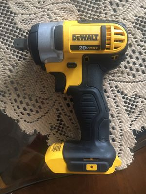 Dewalt wrenches 1/2 inches 20v $110 tool only for Sale in San Diego, CA