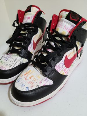 LUCHA LIBRE Nike Dunk High Premium size US 10 for Sale in Queens, NY