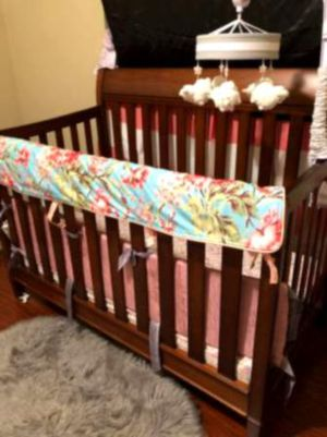 IKEA Crib + changing Table - includes mattress for Sale in Clayton, DE