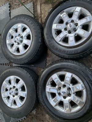 Ford F-150 factory wheels and tires 18 inch for Sale in Mesquite, TX