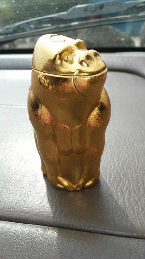 Vintage Bronze Brown Gorilla Lighter Masai Modern Japan for Sale in Austin, TX
