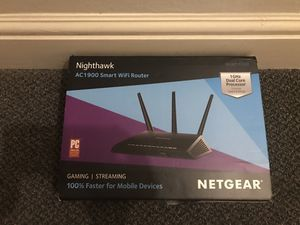 Like-new NETGEAR Nighthawk AC1900 WiFi Router for Sale in San Francisco, CA