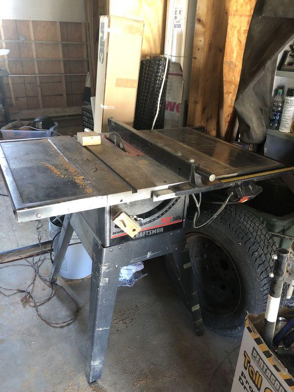 Table saw craftsman