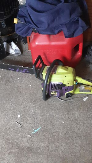 Poulan Wild Thing Chainsaw for Sale in Presque Isle, ME