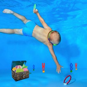 Diving Pool Toys for Kids 27 Pcs Underwater Swimming Pool Toy Set, Diving Sticks for Sale in Queens, NY