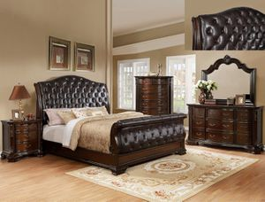 New! Queen Sleigh Bedroom Set for Sale in High Point, NC