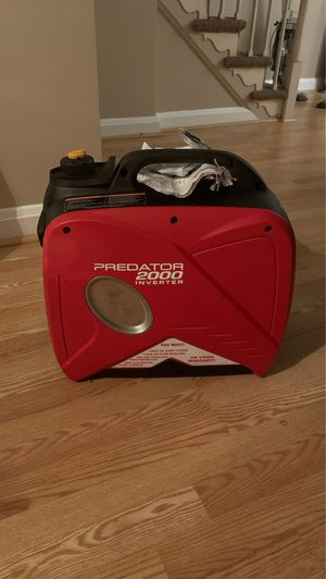 BRAND NEW Predator Generator $450 for Sale in Baltimore, MD