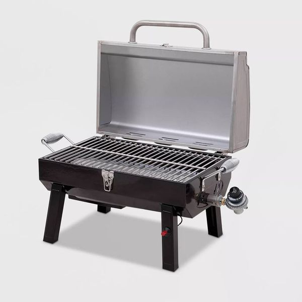 Propane Tabletop Grill Portable Char Broil Gas Push Button Start BBQ Barbecue Camp RV Travel