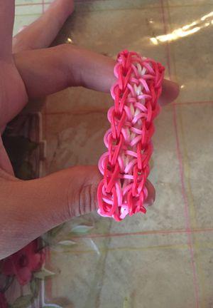 Rainbow loom bracelet for Sale in Los Angeles, CA