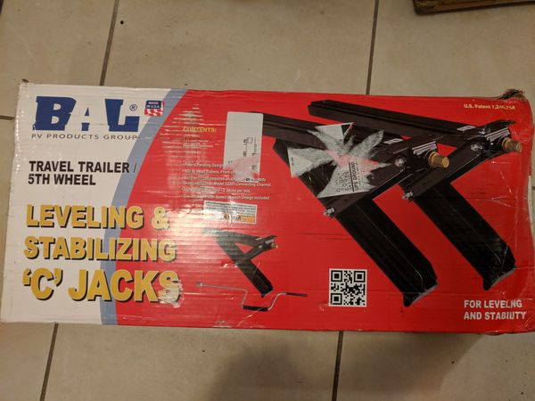 Leveling & Stabilizing 'C' Jack's.