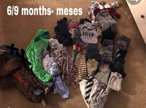 Baby boy 6/9 months clothing for Sale in Moreno Valley, CA