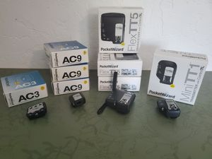 Pocketwizard Flex TT5, Mini Flex, AC9, AC3 receivers and transeivers for Sale in Phoenix, AZ