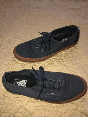 Navy Vans with Gum Sole Size 13 for Sale in Fort Myers Beach, FL
