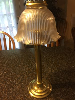 Party Lite Library Lamp Candle Holder for Sale in Spring City, PA