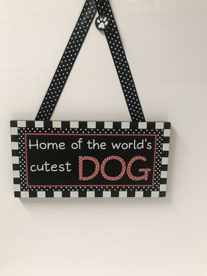 Dog House sign (Wood) for Sale in Avondale, AZ