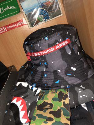 Bape Space Camo Bucket Hat for Sale in San Francisco, CA