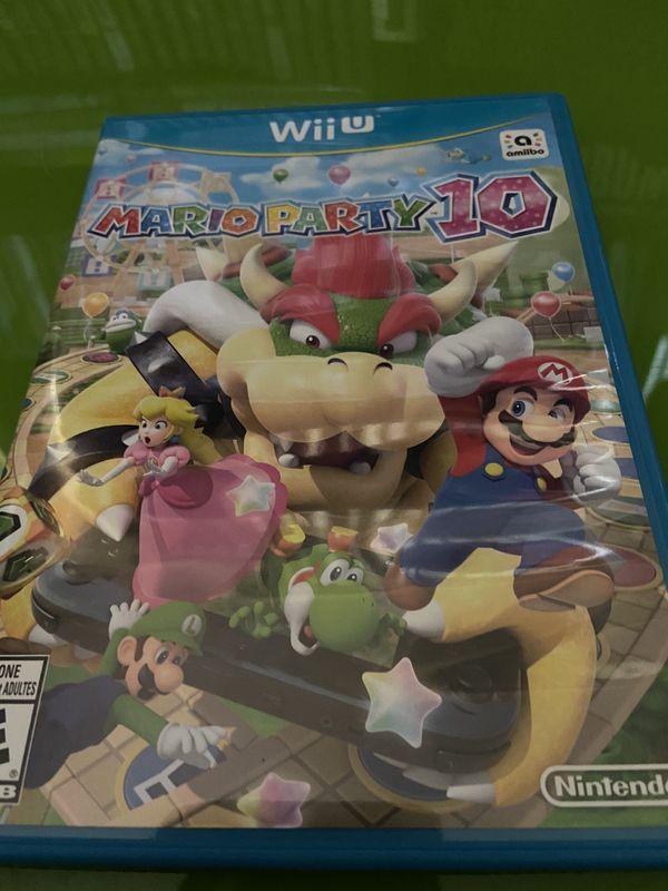 Nintendo Wiiu Mario party 10