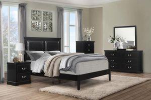 SPECIAL] Seabvshshright Black Panel Bedroom Set for Sale in Baltimore, MD