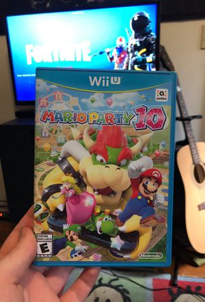 Mario Party 10 for WiiU for Sale in Haverhill, MA
