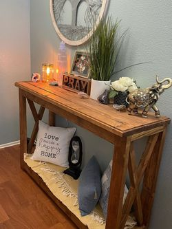 Entryway Table ( Custom Made ) Solid Wood!!! for Sale in West Covina,  CA