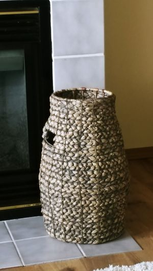 Decorative Braided Tall Basket for Sale in Everett, WA