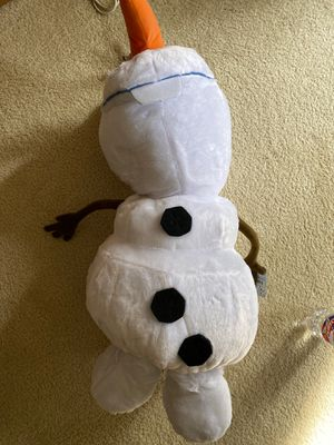 Huge Frozen Olaf plush Disney for Sale in Bedford, TX