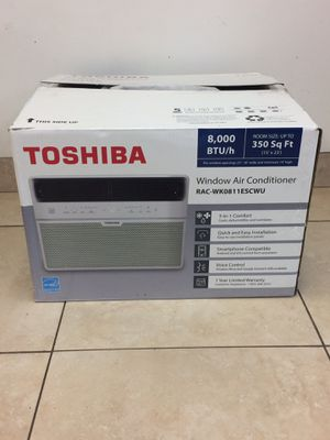 Toshiba 8,000 BTU WINDOW UNIT ac for Sale in Boca Raton, FL