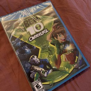 Wii U Ben 10 for Sale in Glendale, AZ
