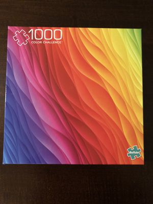 Buffalo Games - Vivid Collection - Color Challenge - 1000 Piece Jigsaw Puzzle for Sale in Issaquah, WA