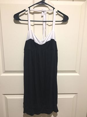 Johnny Martin Womens Summer Sexy Backless White/Black Dress Size M-New With Tag- for Sale in Philadelphia, PA
