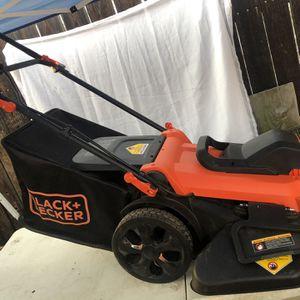 BLACK+DECKER 20 in. 13-Amp Corded Electric Walk Behind Push Lawn Mower for Sale in La Habra, CA