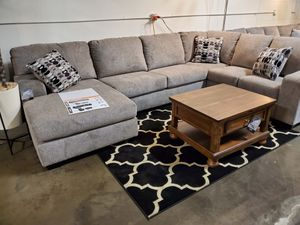 Sectional Sofa (Ottoman/Coffee Table is not included), Platinum for Sale in Garden Grove, CA
