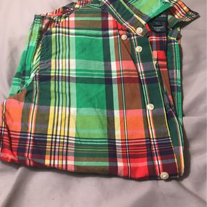 Ralph Lauren Red, Blue, Green Plaid Shirt for Sale in Hoffman Estates, IL