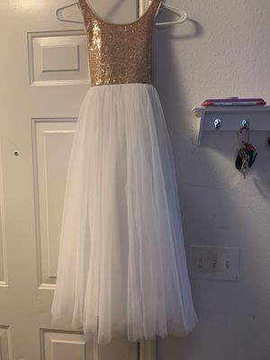 Rose Gold Flower girl dress for Sale in Nashville, TN