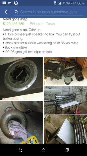 Gmc parts for Sale in Houston, TX