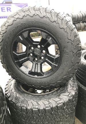 700$ rims and tires on special $ for Sale in San Antonio, TX