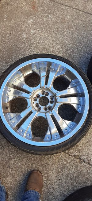 Set of rims 20s $150 !! for Sale in Newark, CA