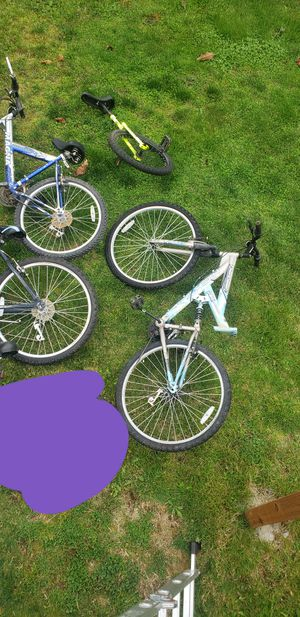 Bikes for sale. Most for parts. Buy in bulk or separate. Read description for Sale in Sumner, WA